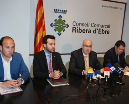 Imatge de la noticia El Consell Comarcal de la Ribera dEbre acull la reuni dels presidents dels consells comarcals de les Terres de lEbre