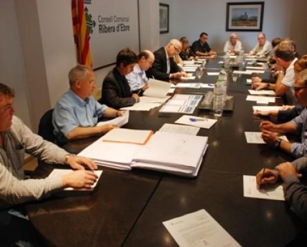 Imatge de la noticia El Consell Comarcal de la Ribera d'Ebre aprova un pressupost de 5.512.293 euros per l'exercici del 2015