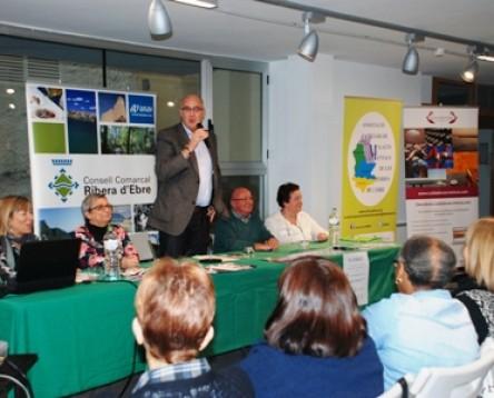 Imatge de la noticia El Consell Comarcal de la Ribera d'Ebre acull la presentació de l'Associació de Familiars de Malalts Mentals de les Terres de l'Ebre i de la web cuidadorascronicos.com