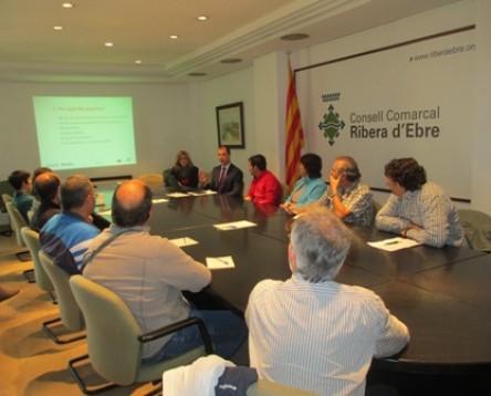 Imatge de la noticia 16 empresaris de la comarca participen al taller d'internacionalització organitzat pel Consell Comarcal de la Ribera d'Ebre i ACCIÓ