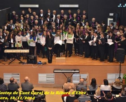 Imatge de la noticia El Centre Cívic de Rasquera acull la XXI Mostra de Cant Coral de la Ribera d'Ebre