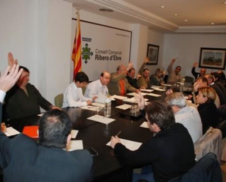 Imatge de la noticia El ple del Consell Comarcal de la Ribera d'Ebre aprova per unanimitat l'adjudicació del contracte d'eficiència energètica