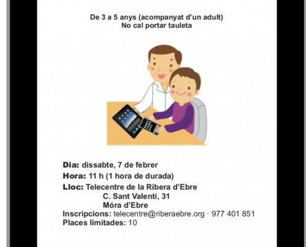 Imatge de la noticia El Telecentre del Consell Comarcal de la Ribera d'Ebre prepara una nova edició de l'activitat 'Aprenem les TIC en família'