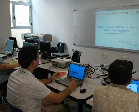 Imatge de la noticia El Consell Comarcal organitza una nova càpsula formativa per construir i personalitzar el lloc web d'un negoci