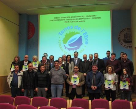 Imatge de la noticia Cinc empreses de la Ribera d'Ebre ja disposen de la marca 'Terres de l'Ebre, Reserva de la Biosfera'