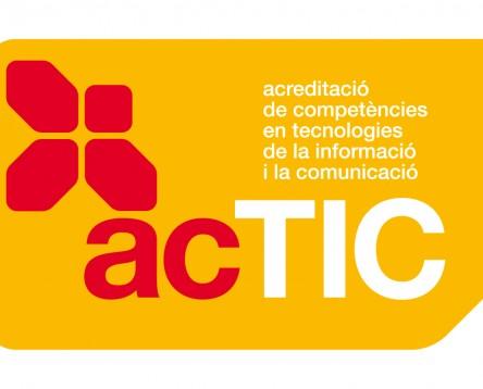 Imatge de la noticia Nova convocatòria per obtenir el títol bàsic i mitjà d'acTIC per acreditar competències en Tecnologies de la Informació i la Comunicació