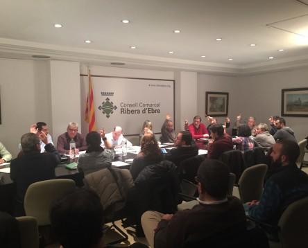 Imatge de la noticia El Consell Comarcal de la Ribera d'Ebre dóna ple suport a les iniciatives contra el Pla Hidrològic Nacional