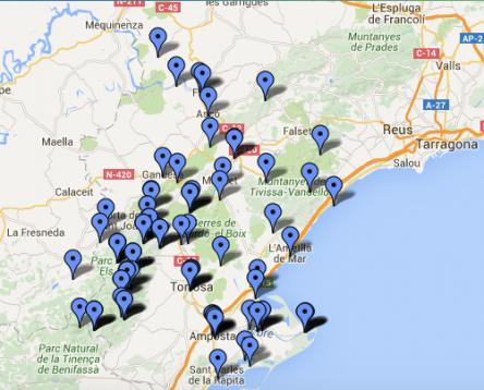Imatge de la noticia Es posa en marxa el nou web biosfera.org amb rutes turístiques sostenibles per fer a la Ribera d'Ebre