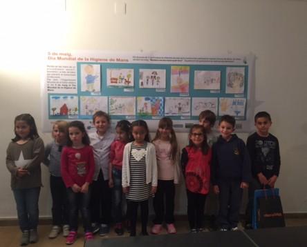 Imatge de la noticia La Ribera promou l'hàbit de rentar-se les mans entre els infants amb un concurs i un tallers a les escoles