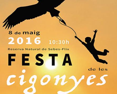 Imatge de la noticia La 14a Festa de les Cigonyes homenatja els 177 nens i nenes nascuts durant el 2015 a la Ribera d'Ebre