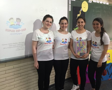 Imatge de la noticia Quatre alumnes de l'Institut Julio Antonio de Móra d'Ebre guanyen un premi de la URV amb un treball sobre la creació d'una empresa de lleure infantil