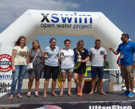 Imatge de la noticia La nedadora riberenca Cristina Vallespí guanya la V Ultra Ebre Swim Marathon Original en categoria femenina