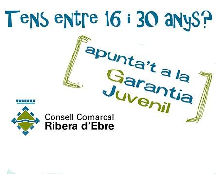 Imatge de la noticia Els joves riberencs inscrits al programa Garantia Juvenil poden optar a un contracte laboral amb els ajuntaments de la comarca aquesta tardor
