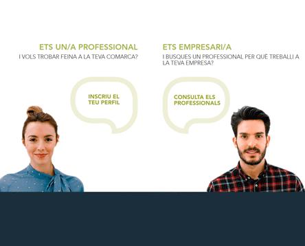 Imatge de la noticia La Ribera d'Ebre presenta una eina web per fomentar el retorn de joves professionals a l'entorn rural