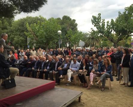 Imatge de la noticia El Consell Comarcal fa front comú amb la resta del territori per reivindicar la millora de la xarxa i el servei ferroviari