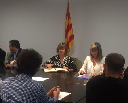 Imatge de la noticia La Consellera de Governació visita la Ribera d'Ebre per implicar-la en la nova administració local de Catalunya