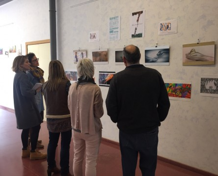 Imatge de la noticia Un estudiant de l'Escola d'Art riberenca guanya la primera edició del Ribera Art