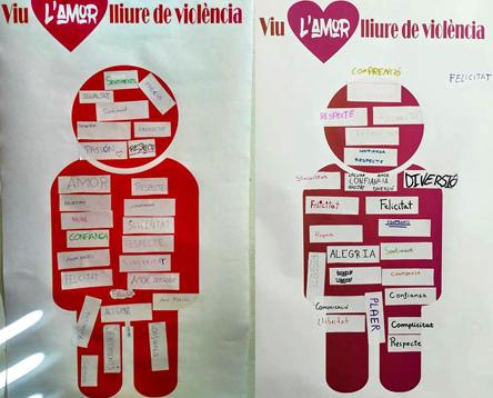 Imatge de la noticia 200 joves riberencs treballen la prevenció de la violència en parella amb tallers sobre l'amor lliure i el respecte
