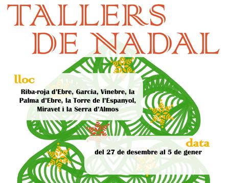 Imatge de la noticia El Consell Comarcal organitza tallers de Nadal a set municipis de la Ribera d'Ebre