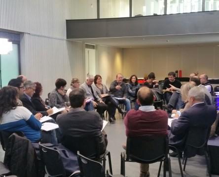 Imatge de la noticia Representants de la Ribera d'Ebre participen a la primera sessió territorial de GovernsLocals.cat
