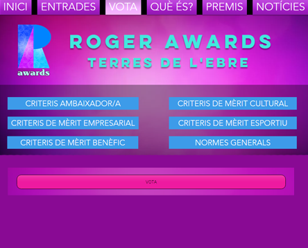 Imatge de la noticia Els ebrencs reconeixen la tasca de personalitats i entitats del territori a la quarta edició dels Roger Awards