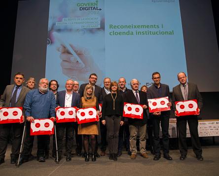 Imatge de la noticia El Consell Comarcal, premiat pel seu alt nivell en implantació i ús de l'administració electrònica