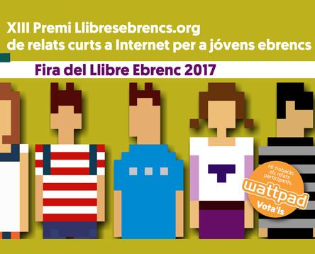 Imatge de la noticia La votació popular entra en joc en la XIII edició del Premi Llibresebrencs.org de relats curts a Internet per a joves ebrencs