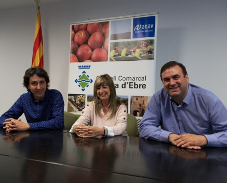 Imatge de la noticia El govern de CiU i FIC al Consell Comarcal de la Ribera d'Ebre s'amplia amb l'entrada d'ERC-AM
