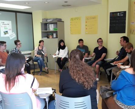 Imatge de la noticia Finalitza el programa Joves en pràctiques, que ha donat feina a una vintena de joves durant sis mesos