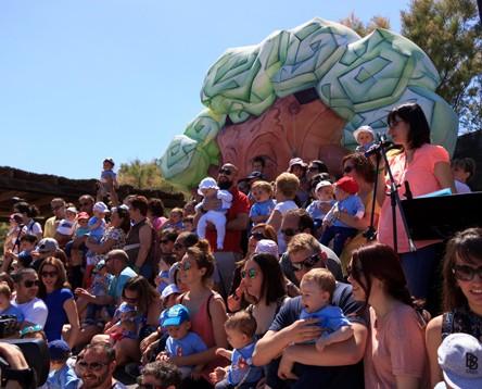 Imatge de la noticia Els més petits, protagonistes de la 15a Festa de les Cigonyes de la Reserva Natural de Sebes