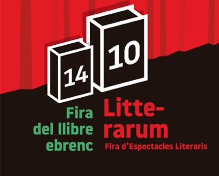 Imatge de la noticia Literatura i arts escèniques convergeixen a Móra d'Ebre en la 10a edició de Litterarum, del 25 al 28 de maig