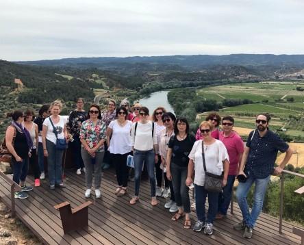 Imatge de la noticia Una quinzena de comerciants riberencs visiten actius turístics de la comarca per fer-se'n prescriptors