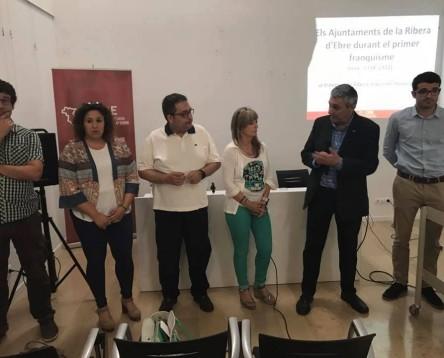 Imatge de la noticia Un jove historiador de Garantia Juvenil recull la història dels 'Ajuntaments de la Ribera d'Ebre durant el primer franquisme'