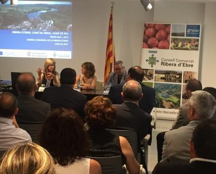 Imatge de la noticia La Ribera d'Ebre aposta per potenciar el Camí de Sirga GR-99 com a atractiu turístic de futur amb el FEDER