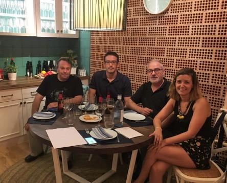 """Imatge de la noticia L'escriptor Andreu Carranza """"convida"""" a sopar els guanyadors del XIII Premi Llibresebrencs de relats curts"""