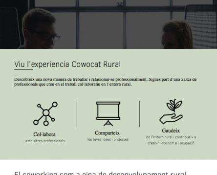 Imatge de la noticia La Ribera d'Ebre participa en una trobada d'experiències de coworking rural a Alemanya