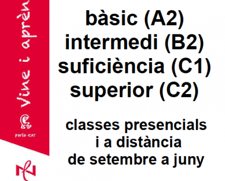 Imatge de la noticia Obertes les inscripcions per als cursos de català per a adults del Servei Comarcal de Català de la Ribera d'Ebre