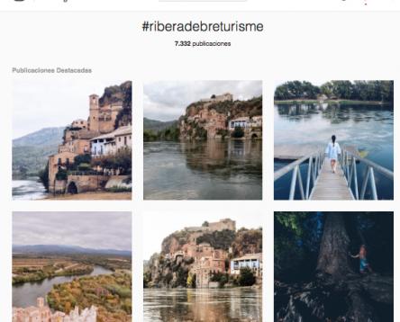 Imatge de la noticia La Ribera d'Ebre promociona els seus atractius turístics a les xarxes socials