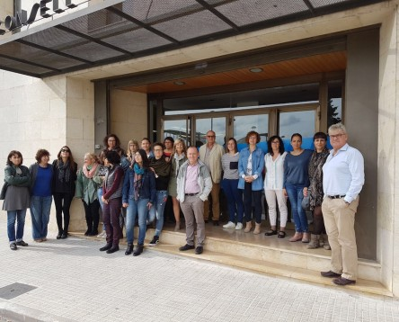 Imatge de la noticia Concentració davant el Consell Comarcal a favor de la Llibertat i contra l'aplicació de l'article 155