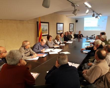Imatge de la noticia La gent gran de la Ribera d'Ebre fa balanç del 2017 a l'assemblea general del seu Consell Consultiu