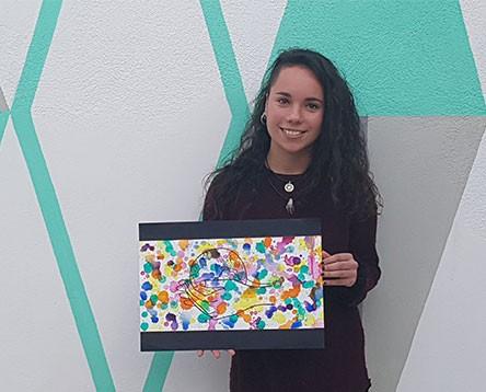 Imatge de la noticia Una estudiant de l'Escola d'Art riberenca guanya el Ribera Art 2017