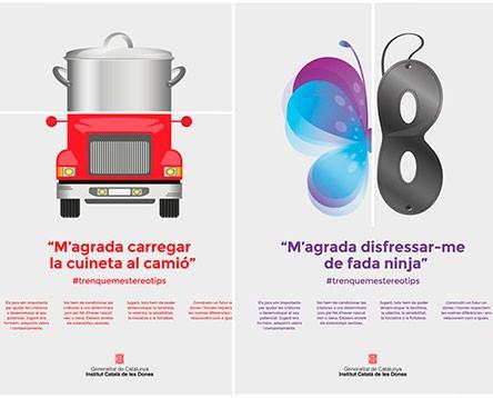 Imatge de la noticia El Consell Comarcal s'adhereix a la campanya #Trenquemestereotips i promou regals no sexistes aquest Nadal