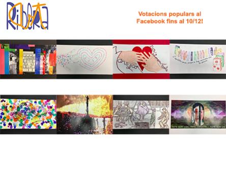 Imatge de la noticia Obertes les votacions populars a Facebook per triar el guanyador del Ribera Art 2017