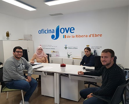 Imatge de la noticia 13 joves troben feina a l'administració pública de la Ribera d'Ebre gràcies al Garantia Juvenil