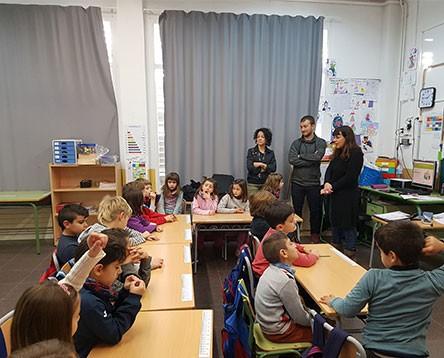 Imatge de la noticia Xerrada informativa a alumnes de l'escola 3 d'abril de Móra la Nova per implicar-los en la recollida selectiva