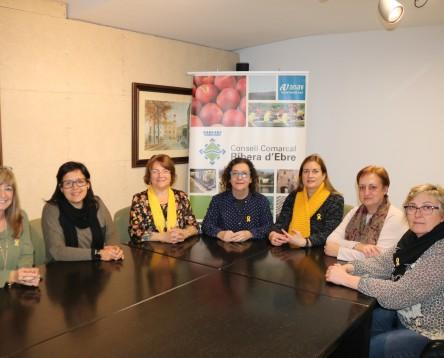 Imatge de la noticia El Consell Comarcal impulsa un Pla per millorar la qualitat de vida de les dones de la Ribera