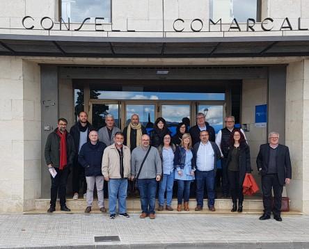 Imatge de la noticia Agents de la Ribera del Xúquer visiten la nostra comarca per conèixer el model de desenvolupament turístic  del GR-99 al voltant del riu Ebre