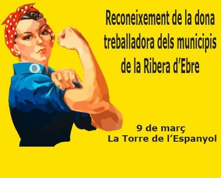 Imatge de la noticia La Ribera d'Ebre celebra el Dia Internacional de la Dona Treballadora, divendres a la Torre de l'Espanyol
