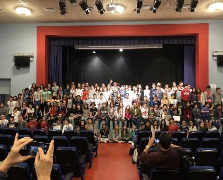 Imatge de la noticia 124 alumnes del Camp i l'Ebre es troben a la Ribera per participar en la segona fase del concurs 'Fem Matemàtiques'