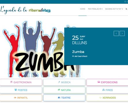 Imatge de la noticia El Consell Comarcal posa en marxa un portal web per centralitzar i difondre l'agenda d'activitats que es fan a la Ribera d'Ebre